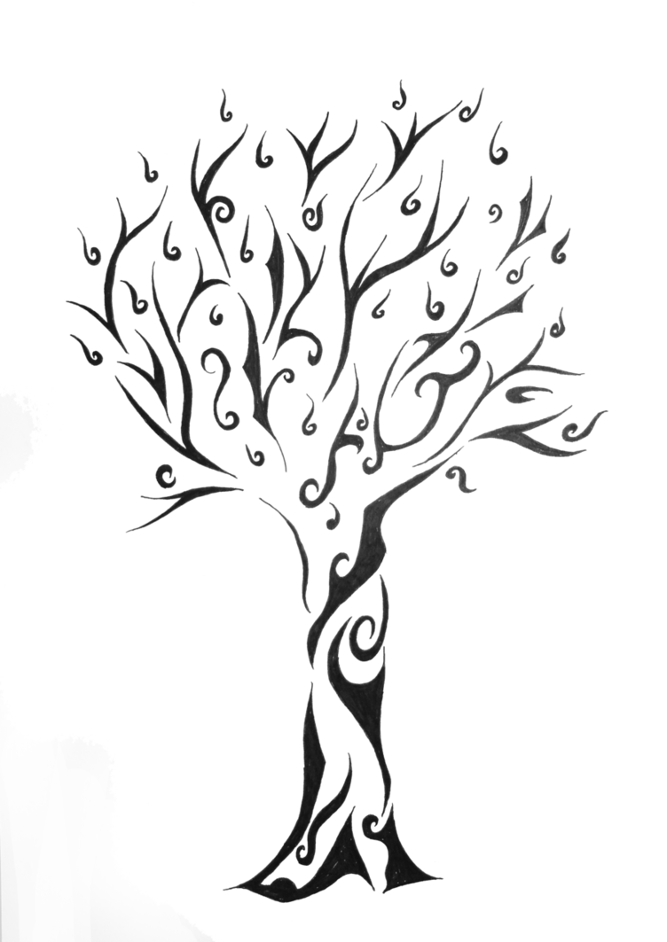 freeuse library Tribal Tree for a friend by Nothing