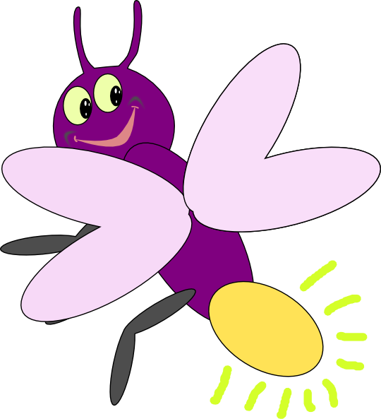 clip art freeuse Purple clip art at. Firefly bug clipart