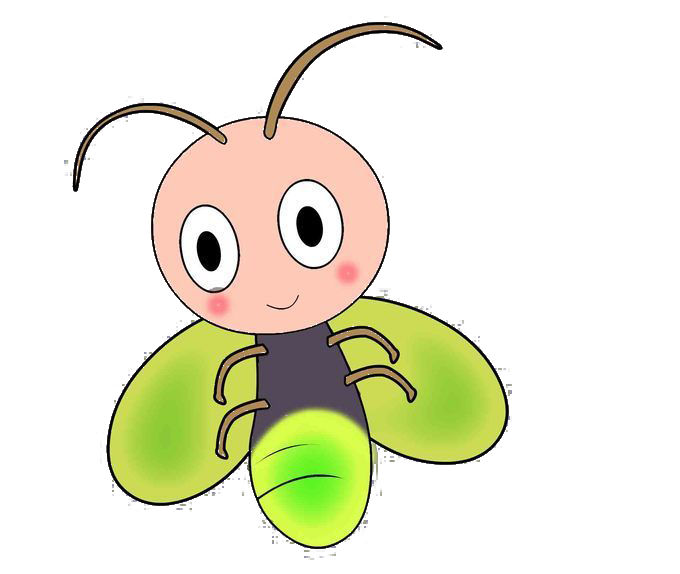 clipart black and white Firefly clipart. Cartoon clip art cute