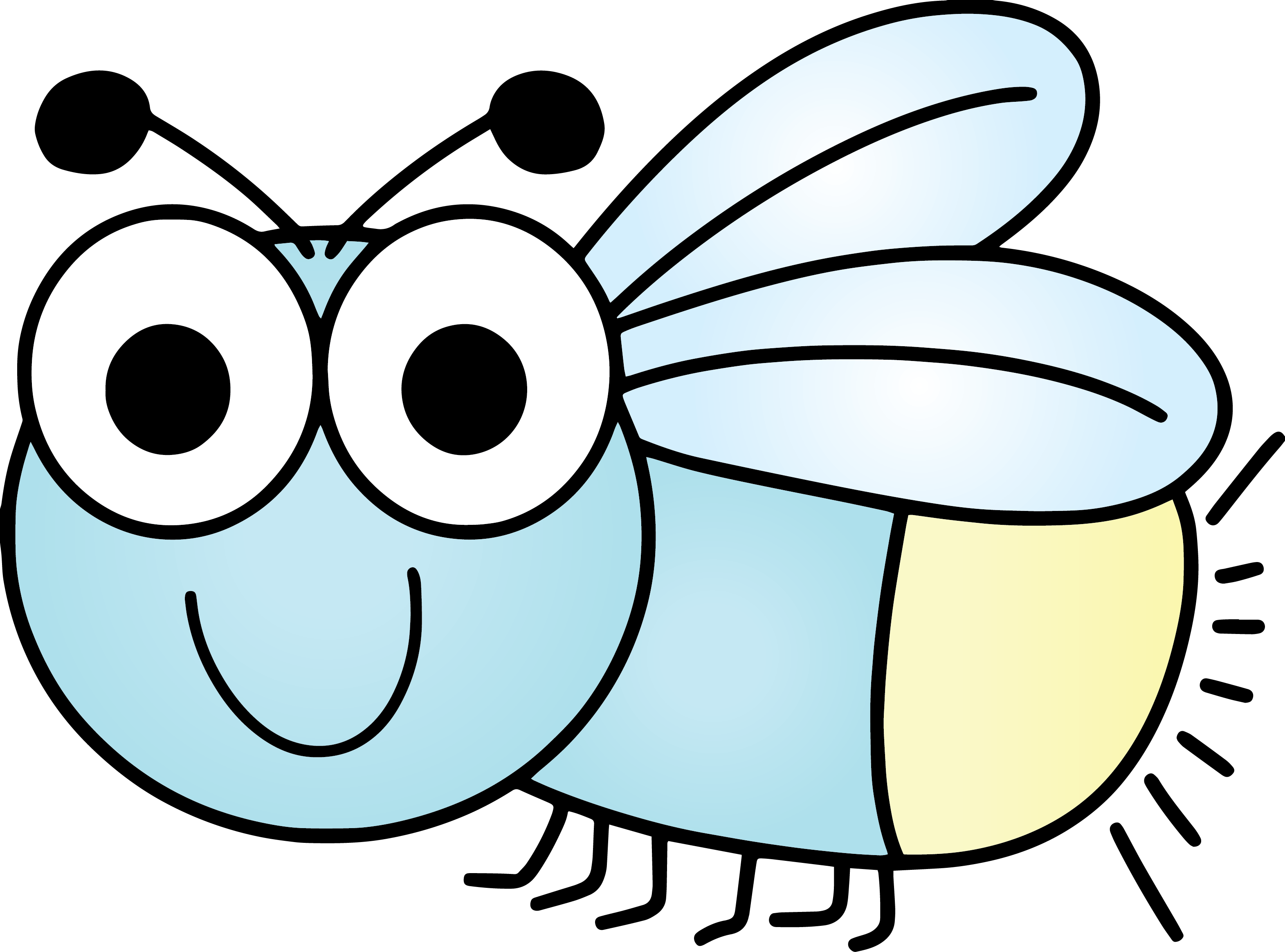 vector royalty free Child education hastings mn. Firefly insect clipart.