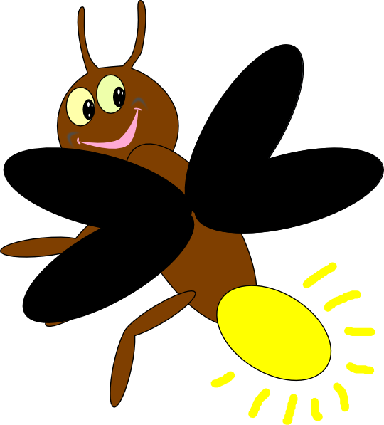 clip black and white stock Collection of free fireflies. Bug vector firefly