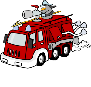 banner library library Clip art at clker. Fireman clipart.