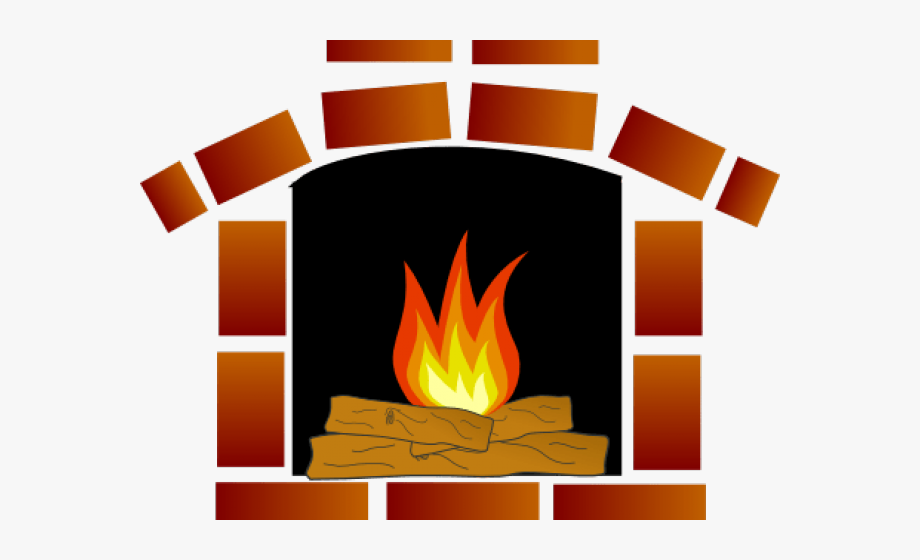 jpg free Fireplace clipart. Transparent