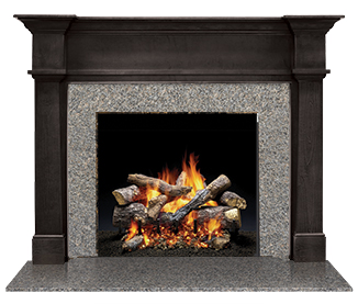 library Fireplace Clipart transparent