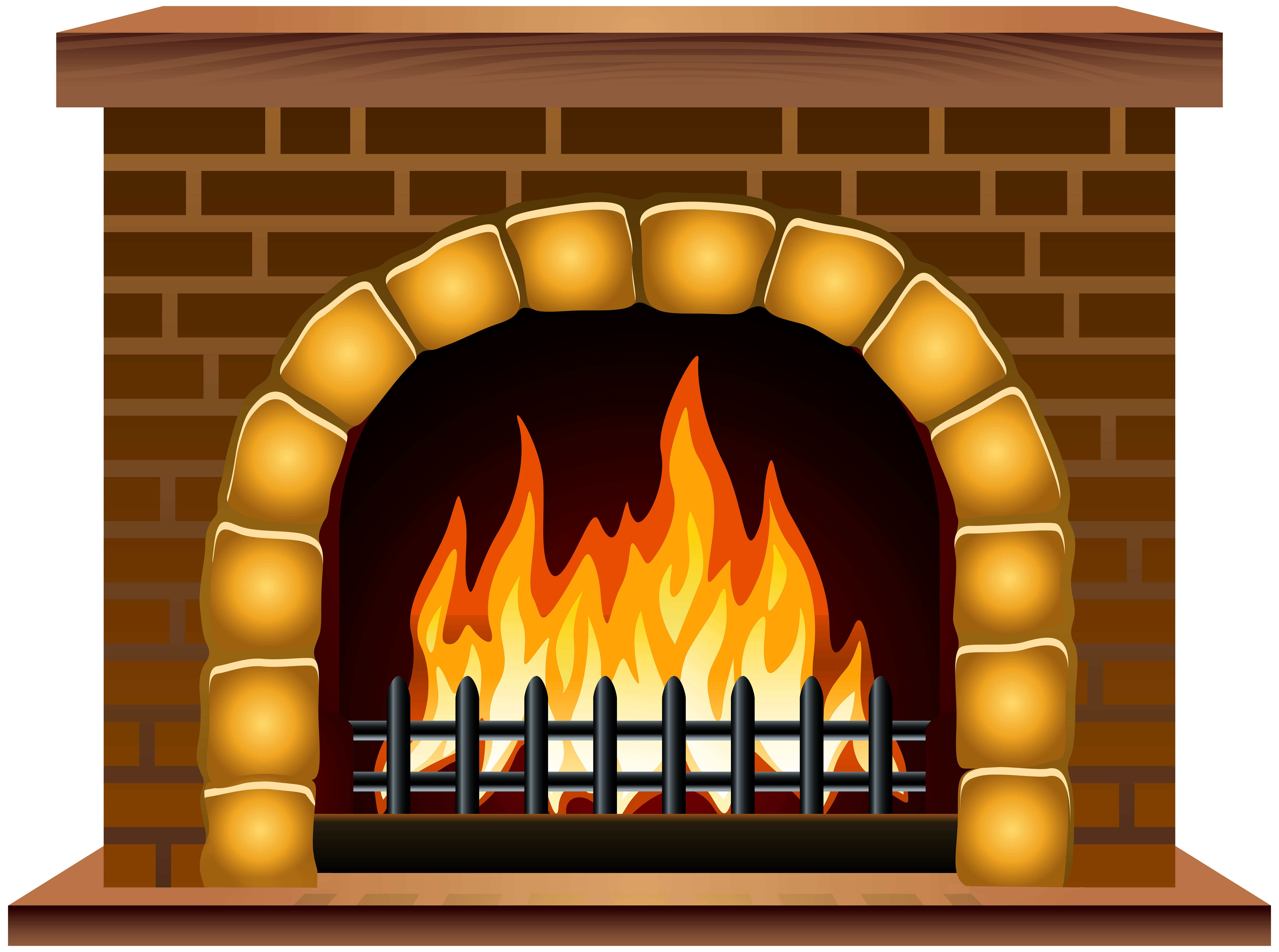 clipart royalty free library Png clip art image. Fireplace clipart.