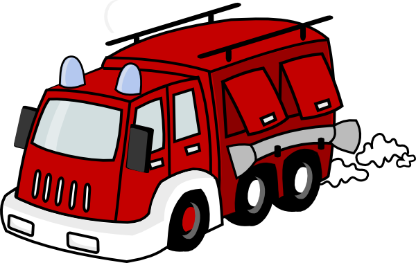 free Firetruck clipart. Red clip art at