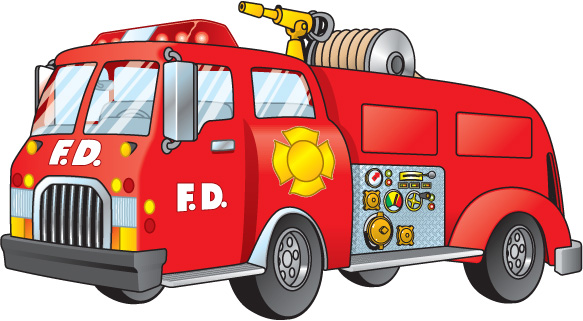 clip library Free fire truck cliparts. Firetruck clipart