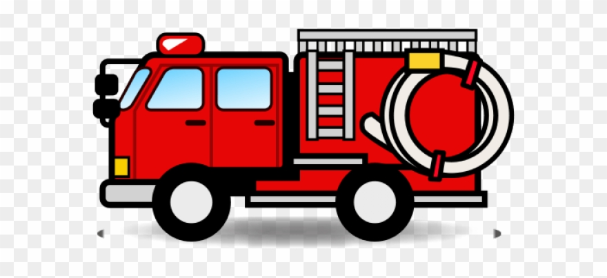 clip art royalty free download Firetruck clipart. Fire truck emoji car