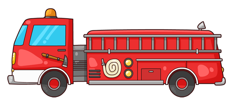 clip transparent library firetruck clipart free clip art fire trucks and fire fighters