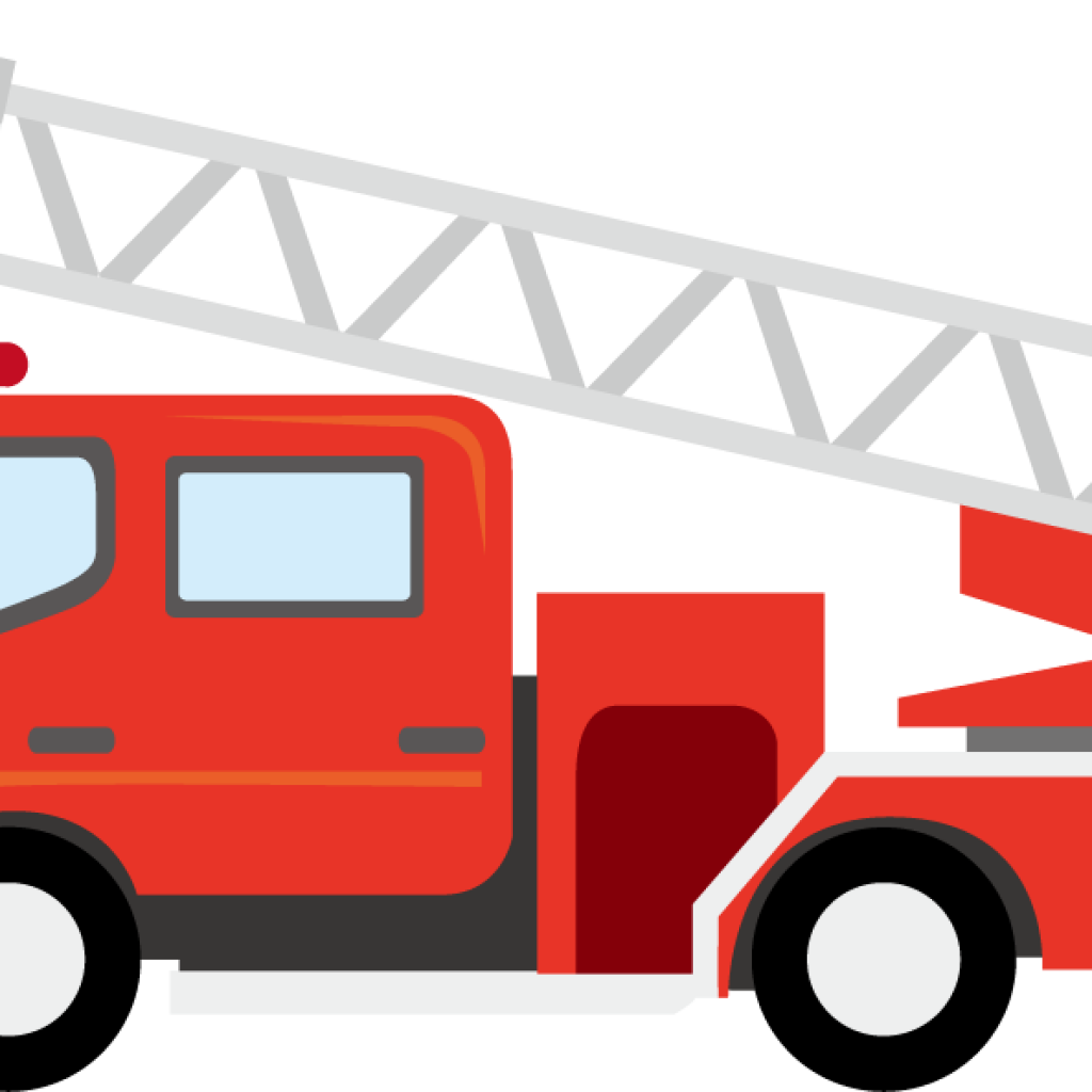 banner download Fire truck ladder clipart. Monkey hatenylo com panda.