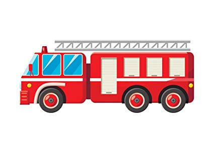 clip art freeuse Amazon com fire truck. Firetruck drawing