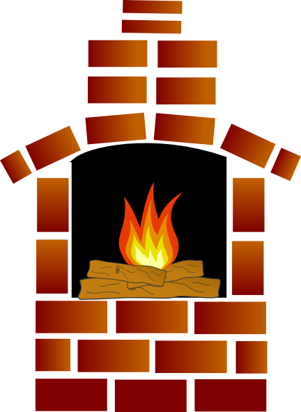 clip art free Brick oven with and. Firewood clipart