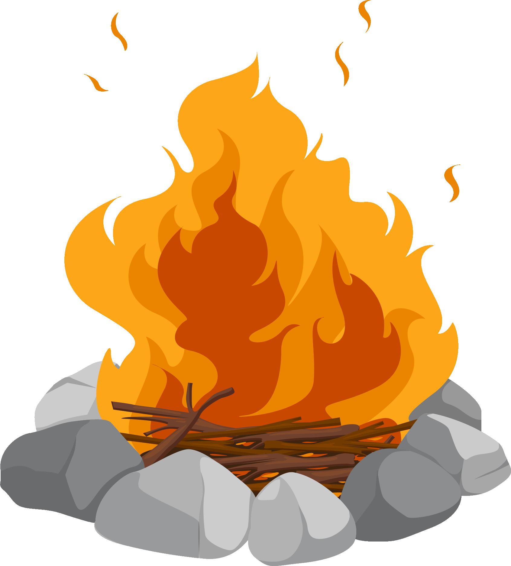 clip library download Campfire Cartoon Bonfire Clip art
