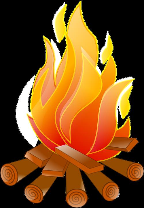 vector stock Burning Wood PNG Transparent Burning Wood