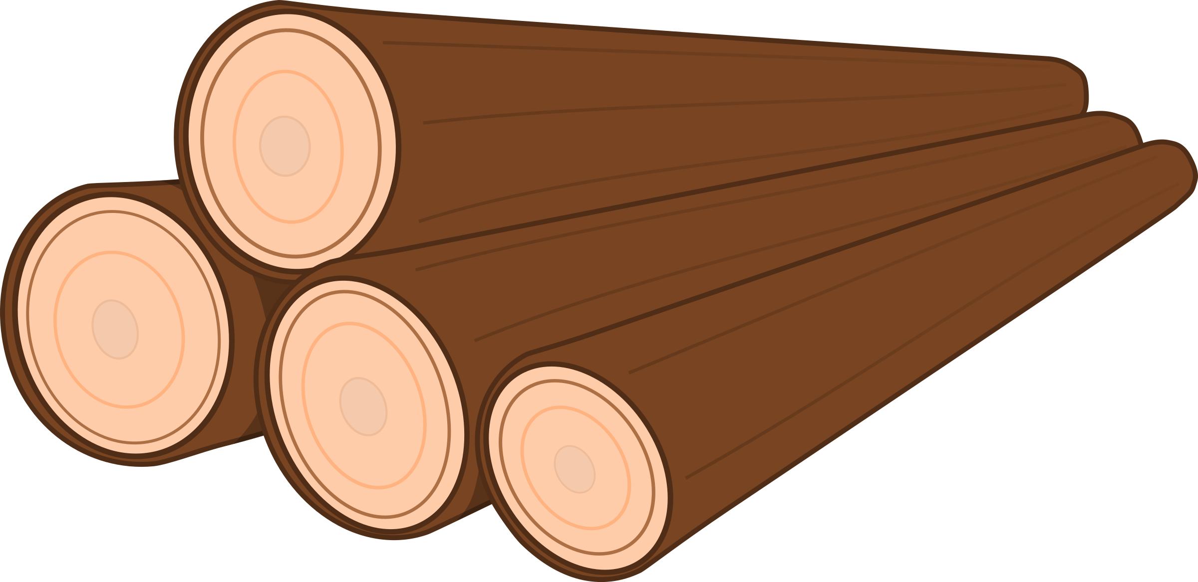 royalty free  collection of wooden. Logs clipart stack log.