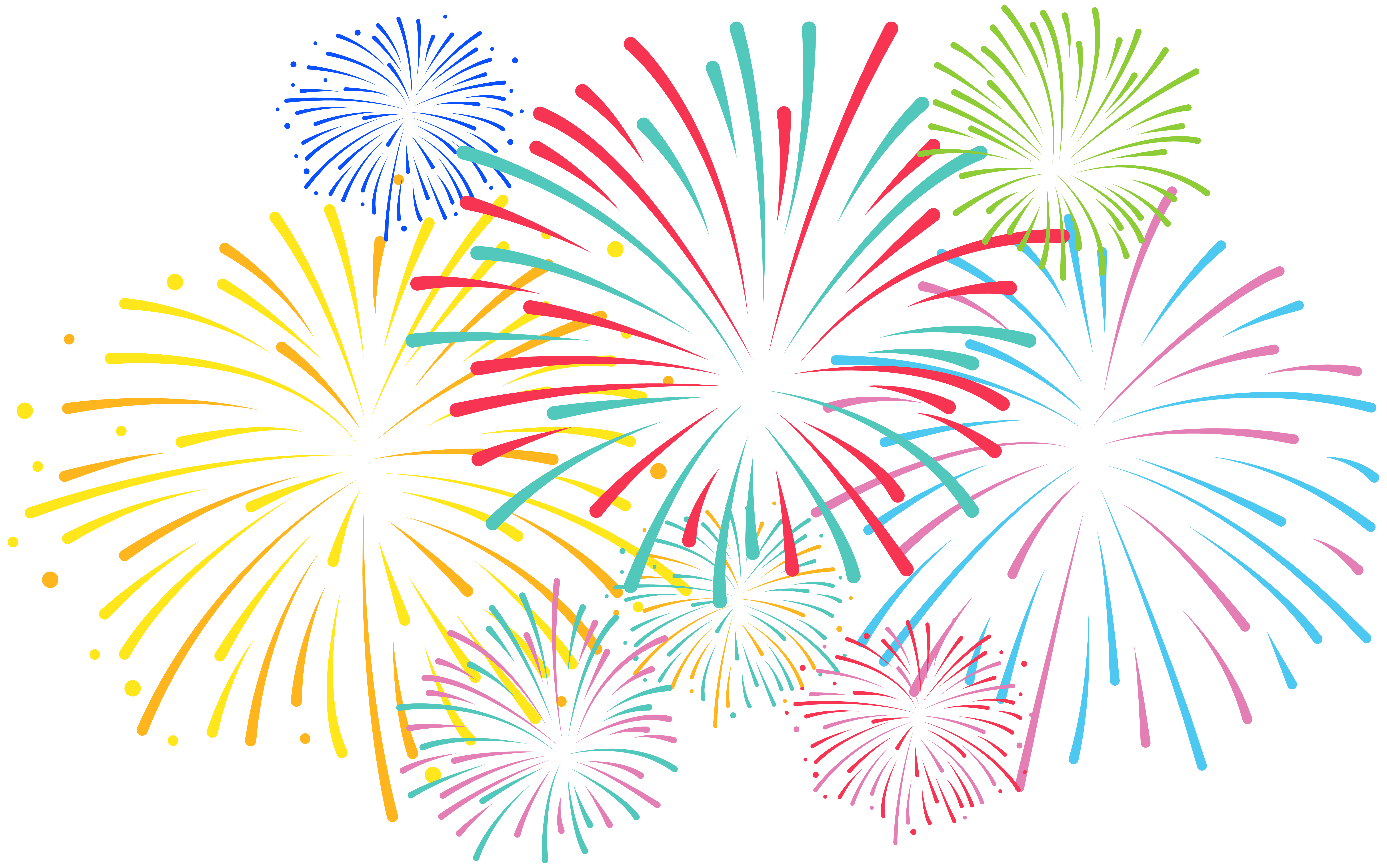 svg royalty free stock Firework clipart.  collection of transparent