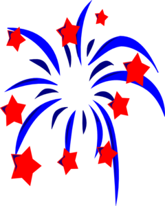 vector 4th clipart background. Fireworks no panda free
