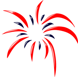 graphic freeuse stock Fireworks no background panda. Firework clipart
