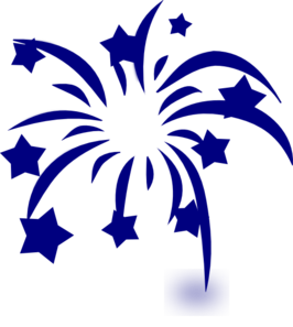jpg transparent stock Navy Fireworks Clipart Clip Art at Clker