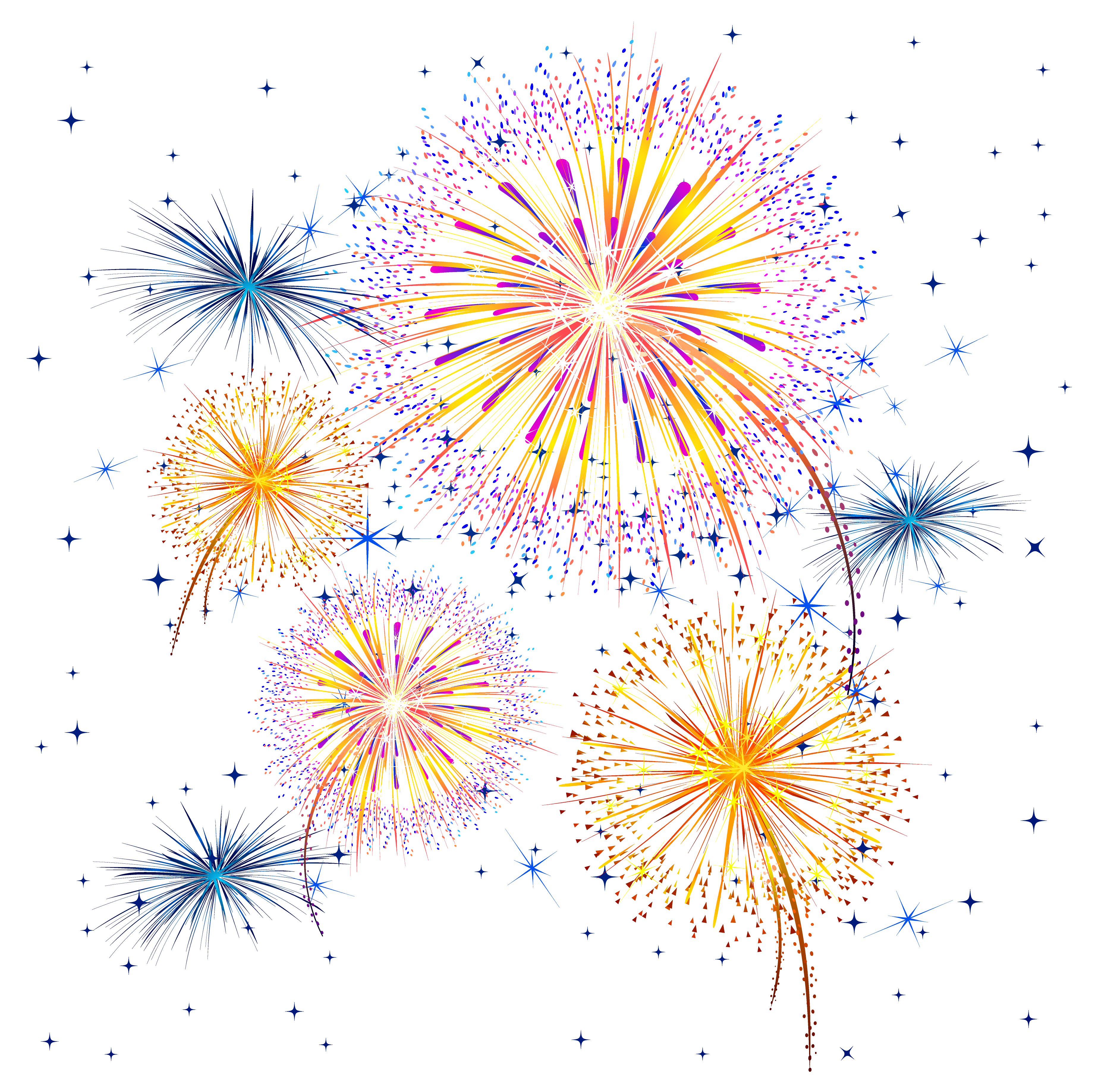 clip royalty free library Firework Show PNG Clipart Image