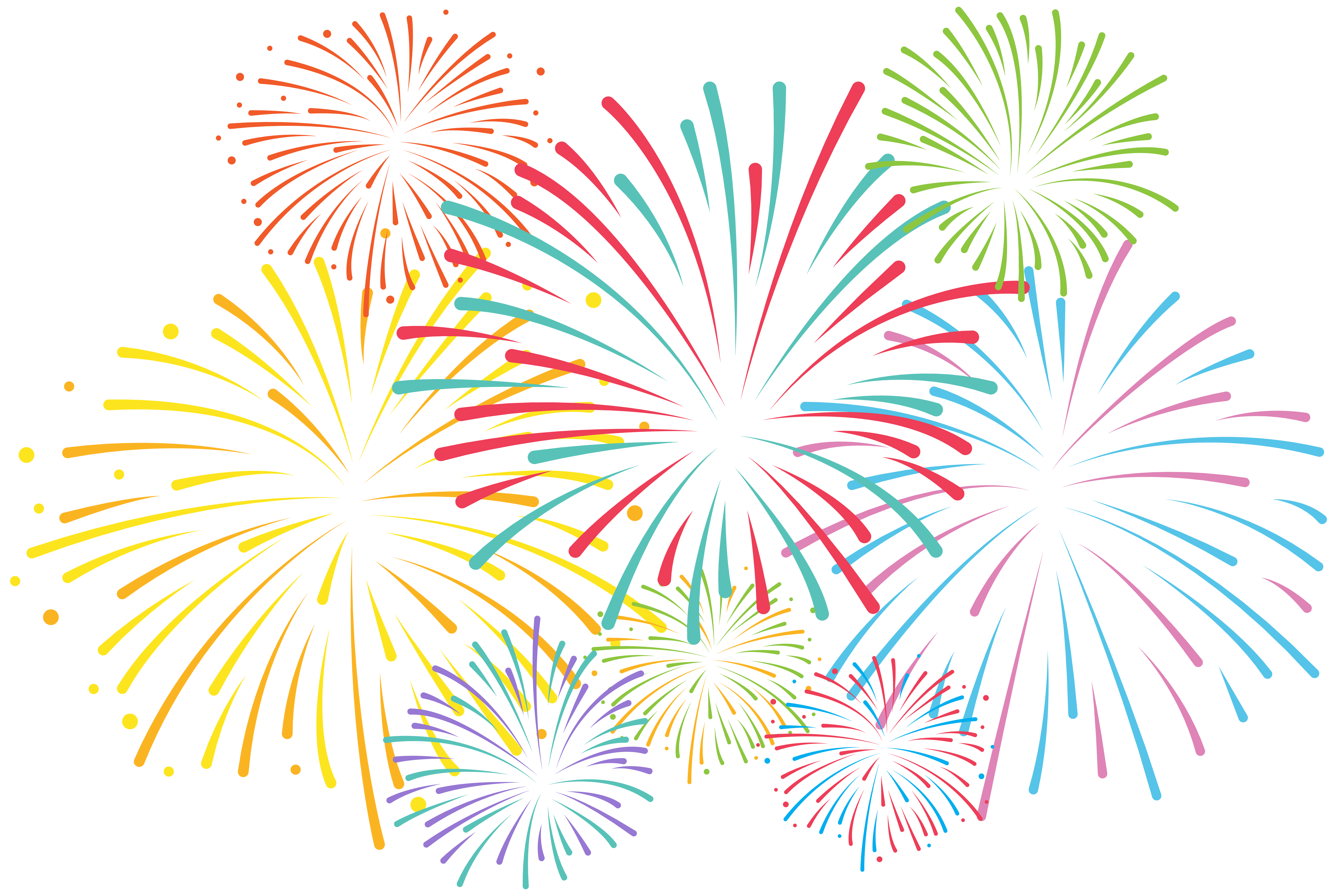 graphic freeuse stock Art gallery clipart. Fireworks png clip yopriceville.