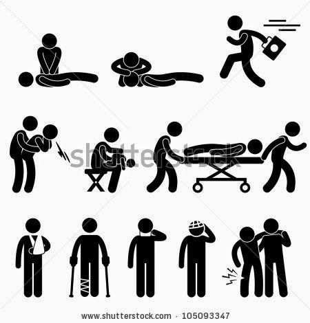 svg black and white library First aid clipart stick figure. Media entertainment this might