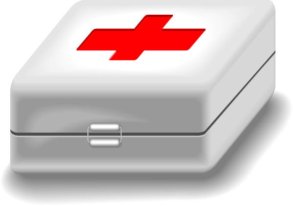 graphic library Medical clip art at. First aid kit clipart.