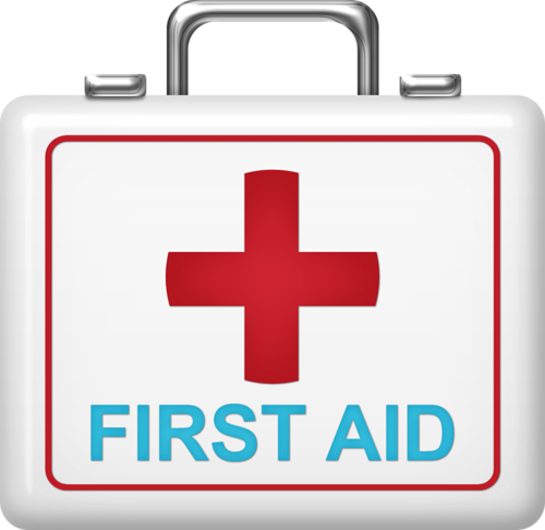 jpg freeuse library Fix me up doc. First aid kit clipart.