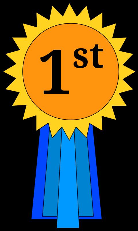 png transparent 1st place medal clipart #65851500