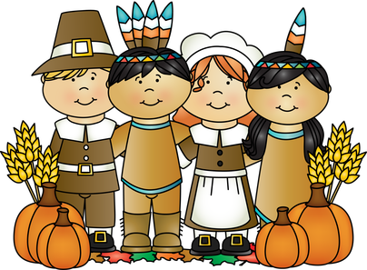 image freeuse Indians clipart first thanksgiving dinner