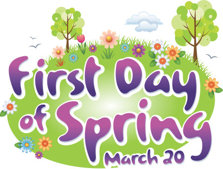 vector freeuse stock First Day of Spring