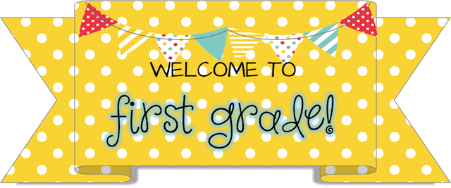 royalty free stock  collection of welcome. First grade clipart