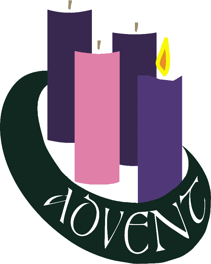 picture transparent First sunday of advent clipart. Wishes candles
