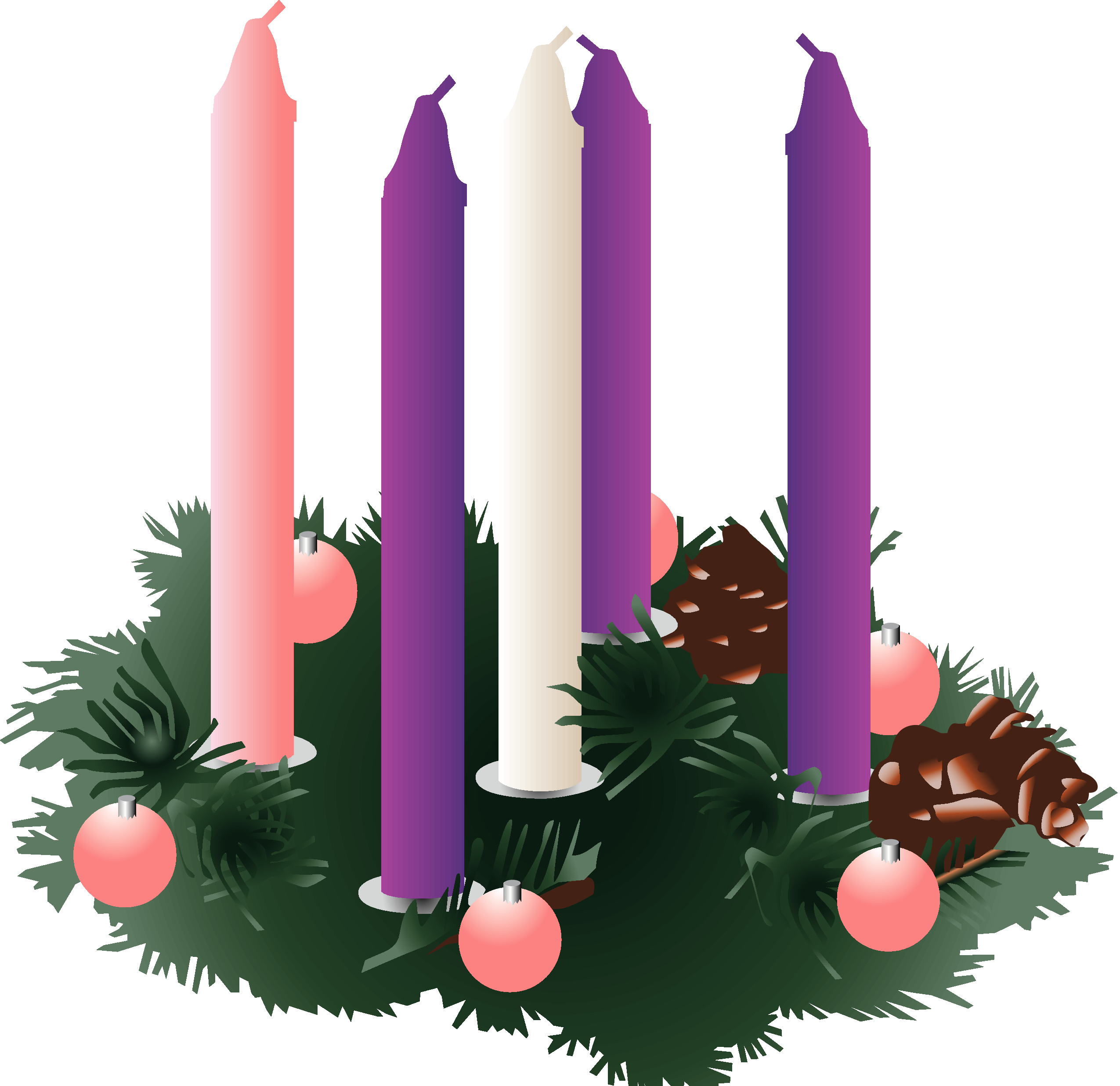 jpg freeuse stock Free clipart advent wreath. The park ridge community