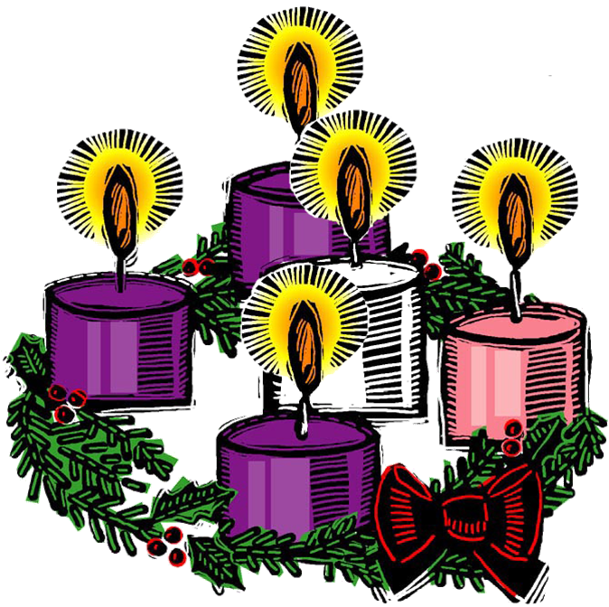 banner black and white library Advent wreath clipart free. What is