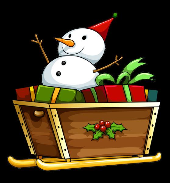 graphic freeuse stock Transparent Christmas Deco Snowman PNG Clipart