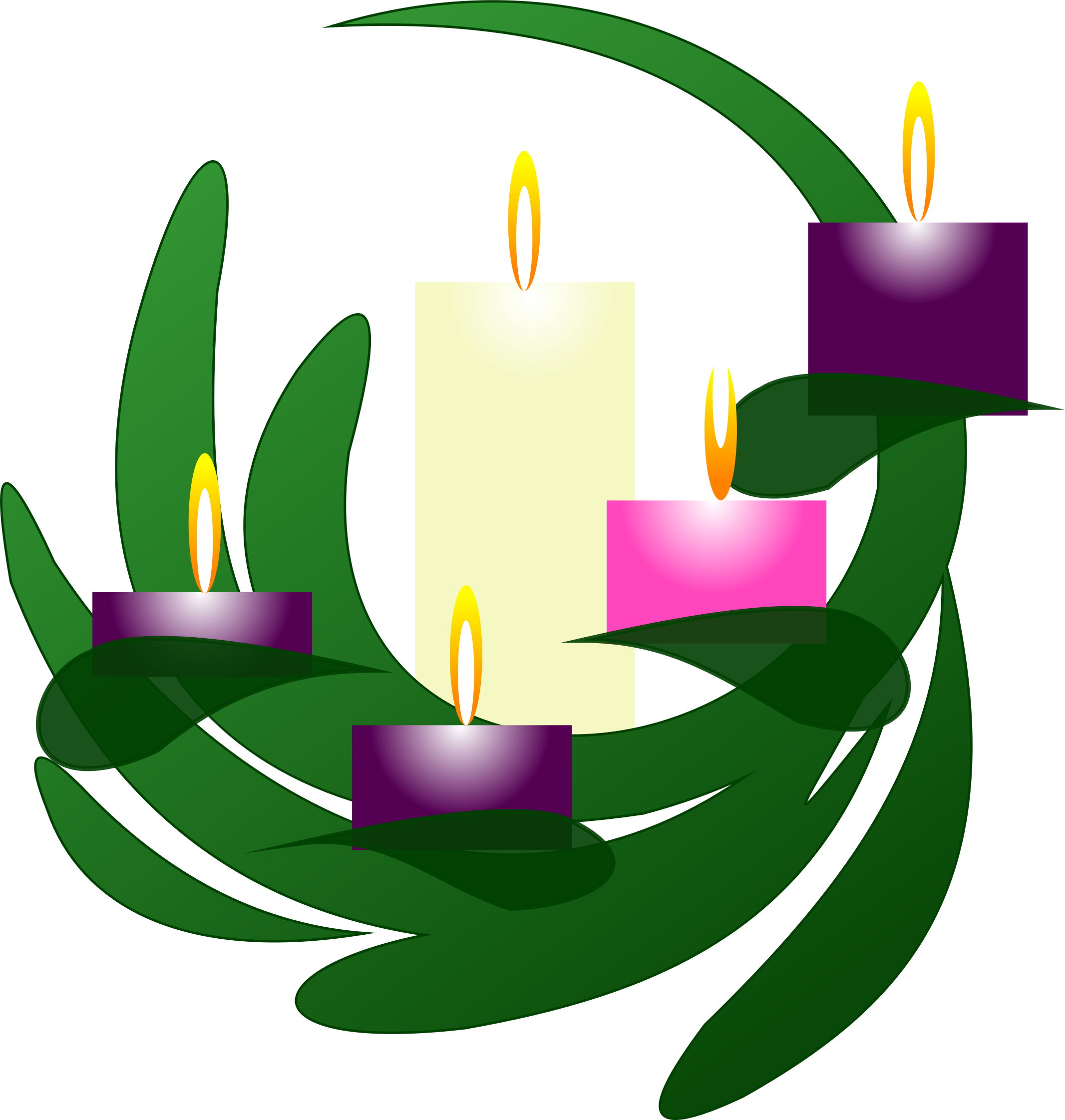 image royalty free library Free clipart advent wreath. Christmas eve icons png