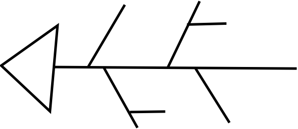 image royalty free stock Fishbone diagram clip art. Bones vector blank