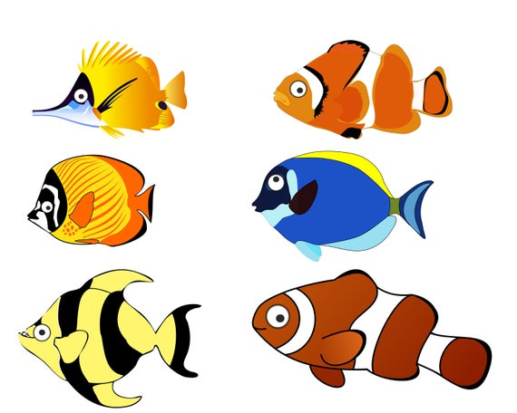 svg black and white download Fish clipart. Clip art ocean png
