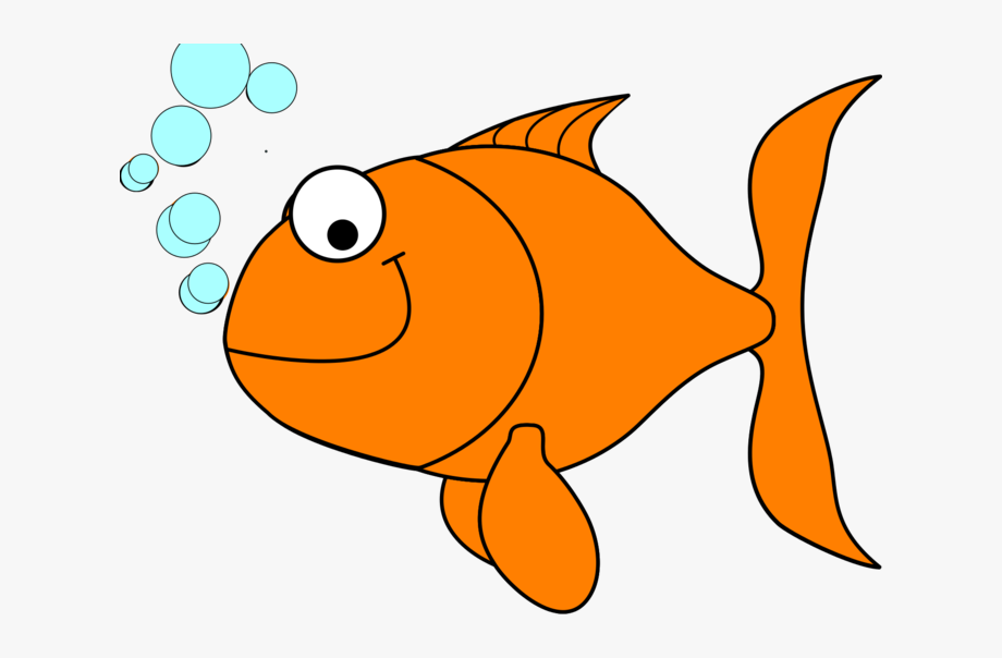 image free Gold clip art free. Fish clipart.