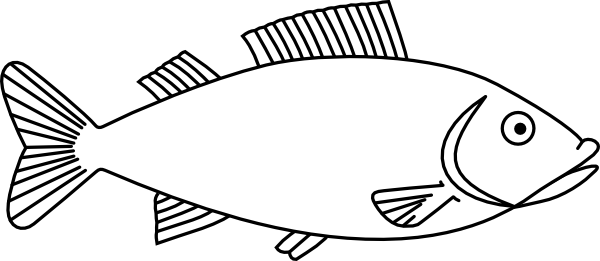 picture freeuse library Types drawing handmade. Easy long fish drawings