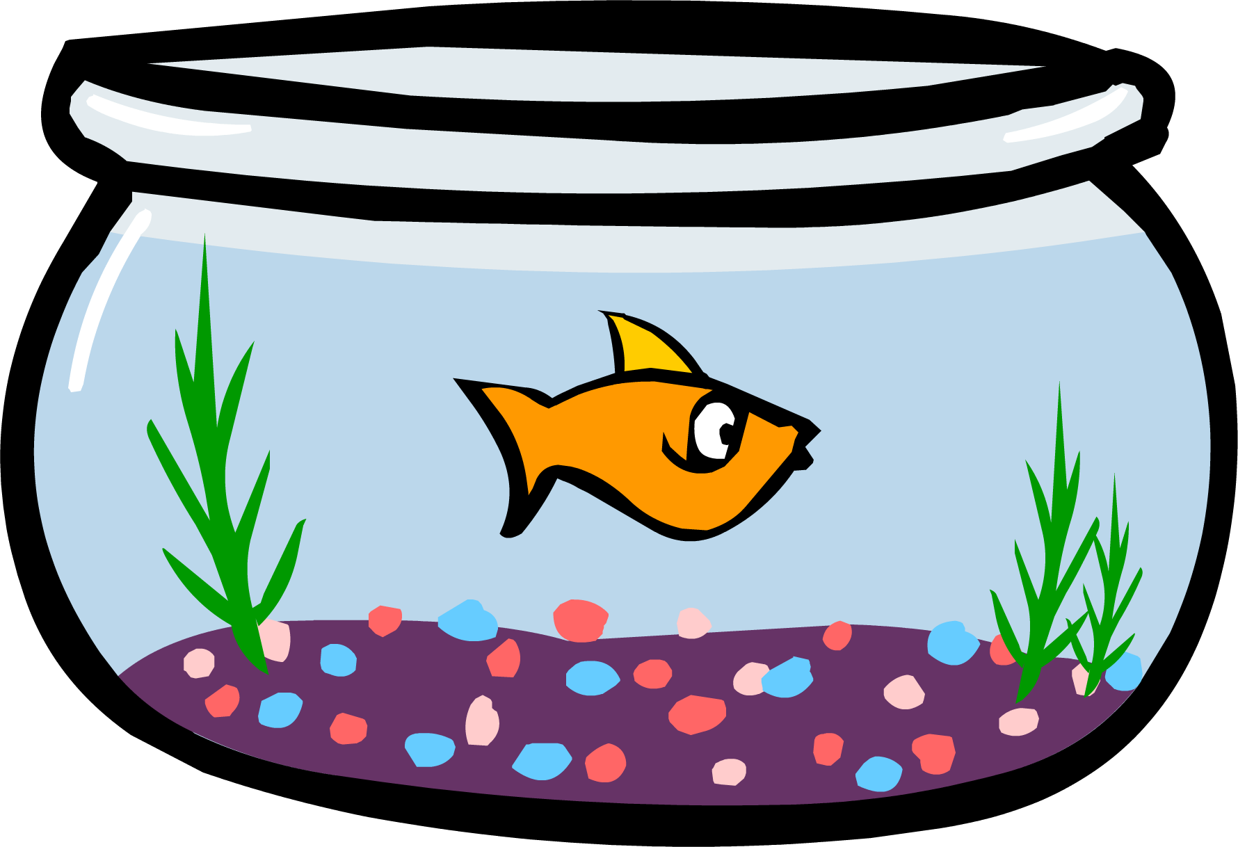 clip art freeuse stock Fishbowl clipart. Fish bowl feeder free.