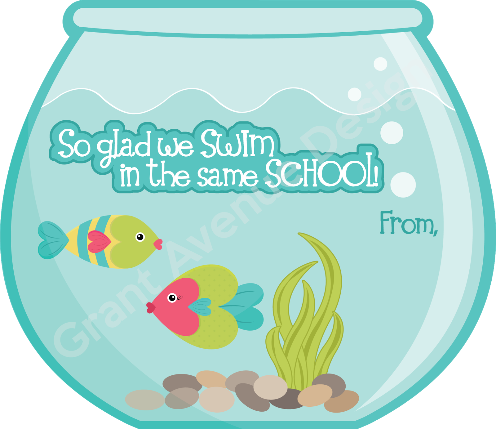 clip free stock  images of valentine. Fishbowl clipart fishing