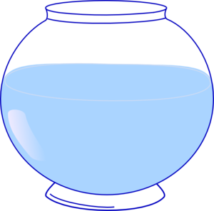 graphic transparent library Fish bowl clip art. Fishbowl clipart fishing