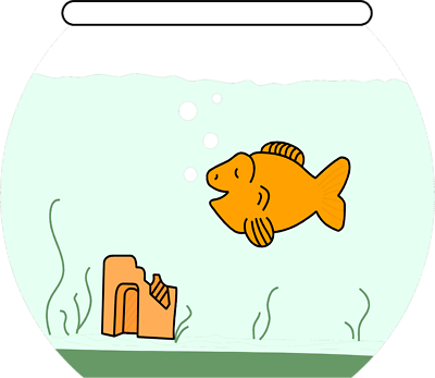 jpg free download Gold Fish In A Bowl Clip Art