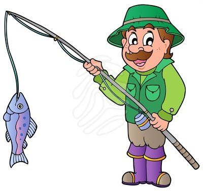 graphic royalty free stock Panda free images . Fisherman clipart