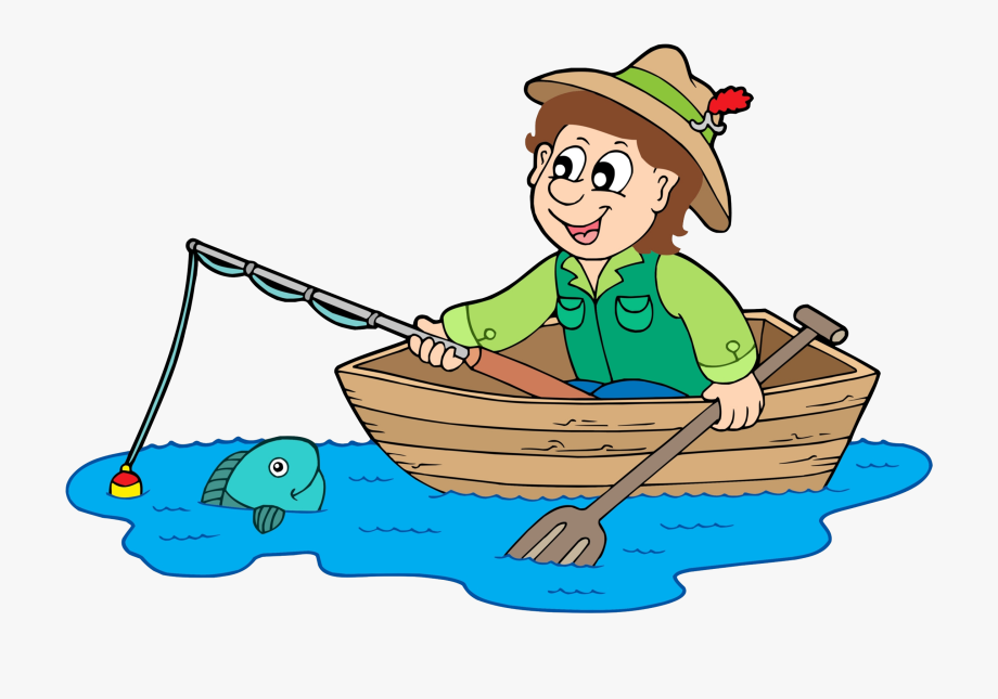 image library Fisherman clipart. Royalty free clip art.