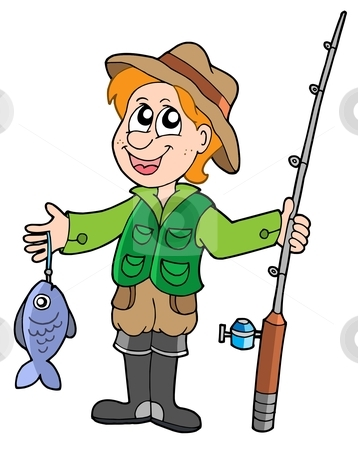 clip freeuse stock Fisherman clipart.  clipartlook