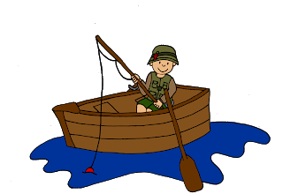image transparent stock Fisherman clipart. Brown boat free on