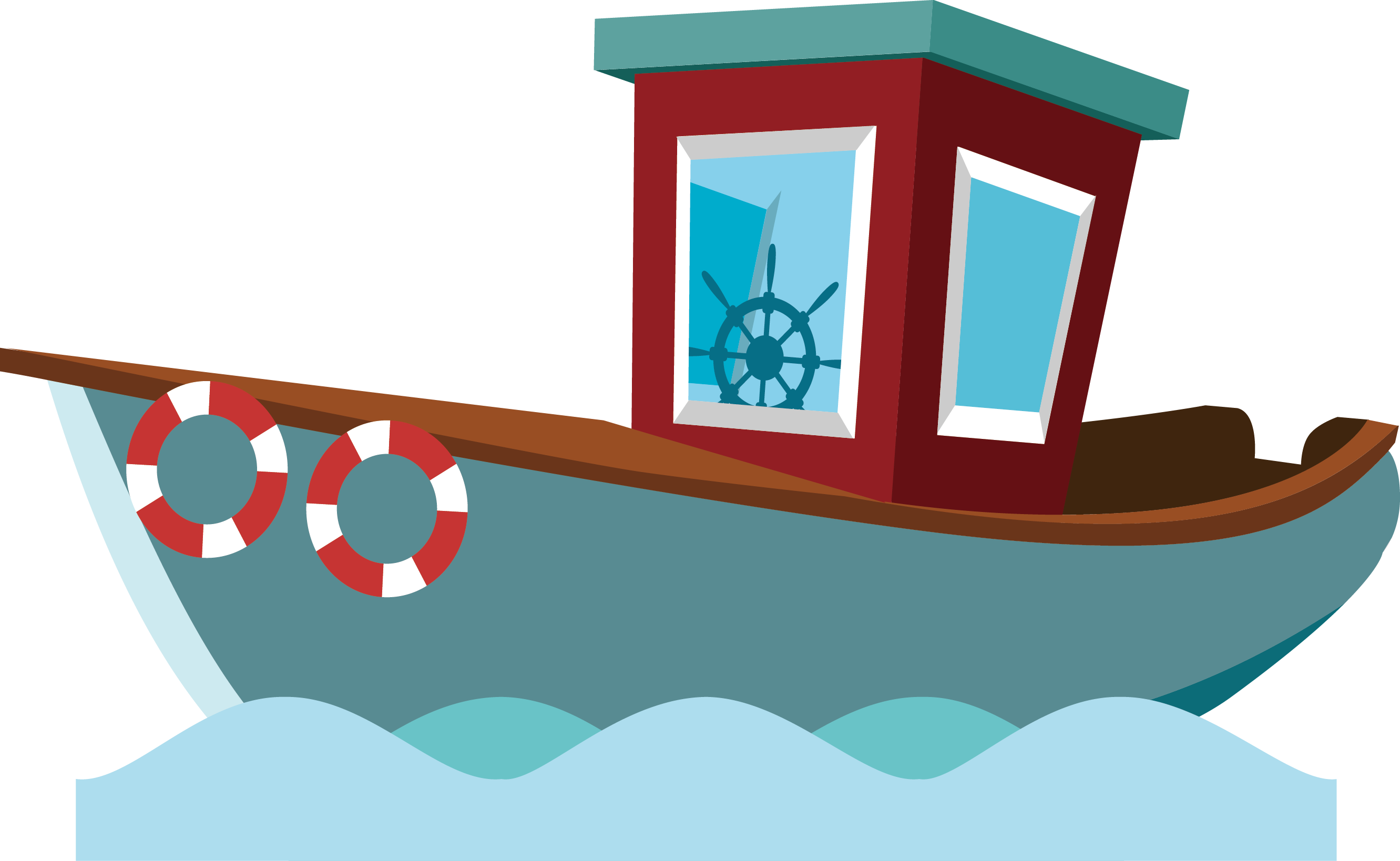 banner free download Cartoon fisherman transprent png. Vector boat fishing vessel